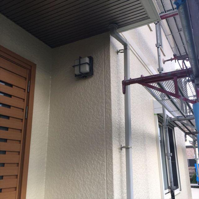 外壁上塗り完了20190531
