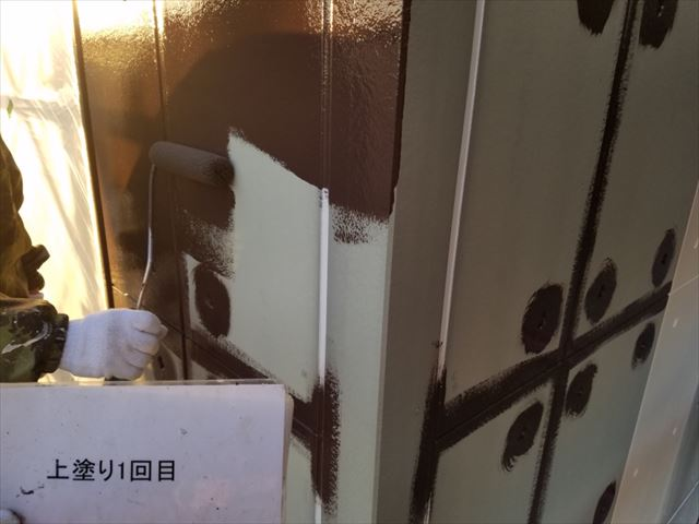 外壁中塗り20190429