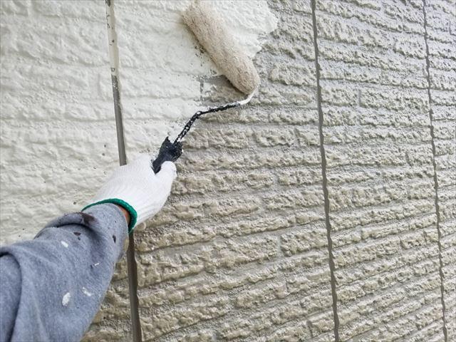 外壁中塗り20180314