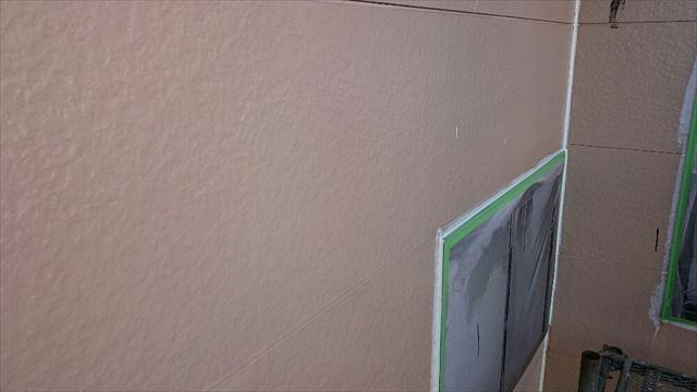 2F外壁下塗り完了20190703