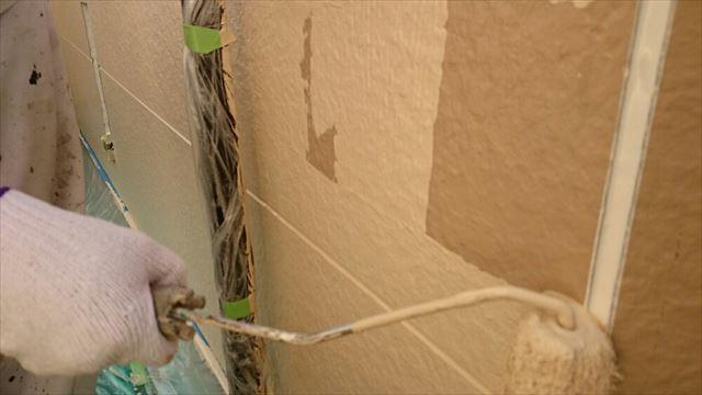 2F外壁中塗り20190703