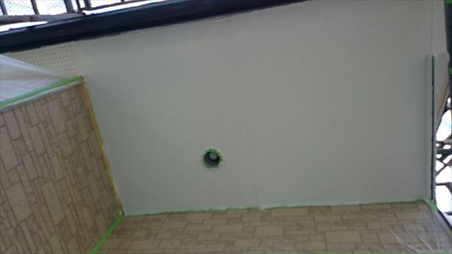 軒天塗装完了20190703