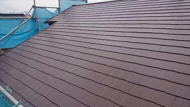 屋根塗装完了20190624