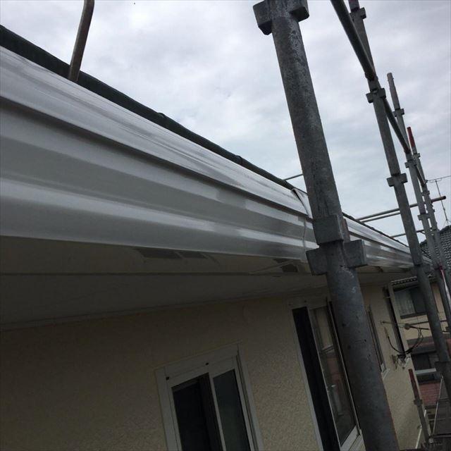 雨樋塗装完了20190531