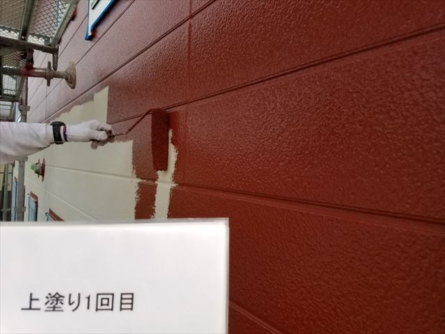 外壁中塗り20190318