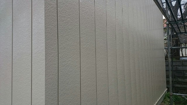 外壁上塗り完了20008