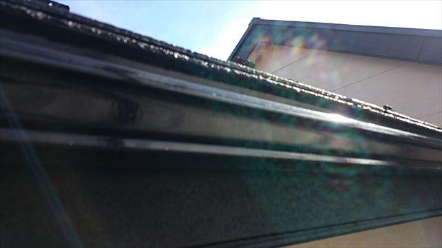 雨樋塗装完了20190703