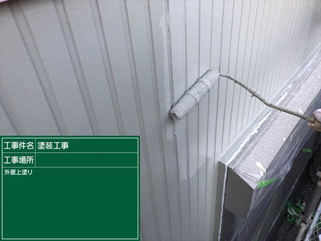 サイディング外壁上塗り20190316