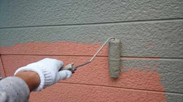 外壁中塗り20190624