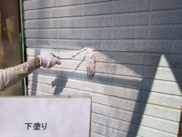 外壁下塗り20190323