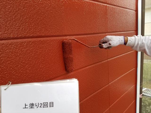 外壁上塗り20190318