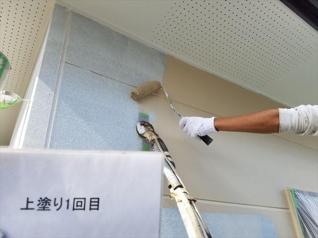 2F外壁中塗り20190323