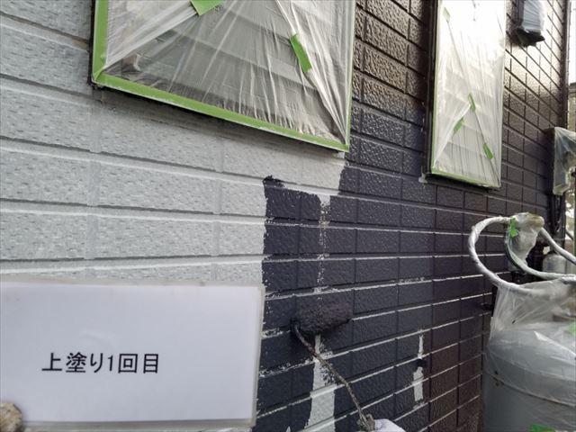 1F外壁中塗り20190323