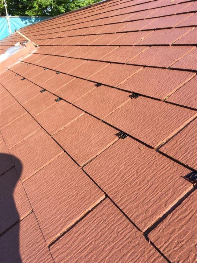 屋根中塗りタスペーサー20190302