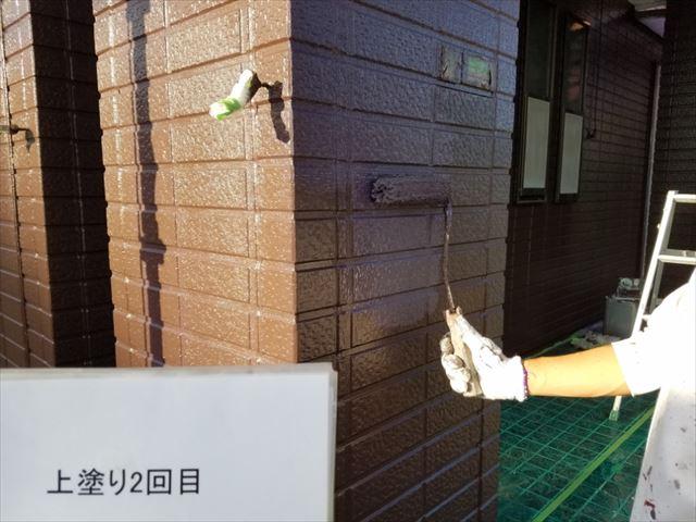 1F外壁上塗り20190323