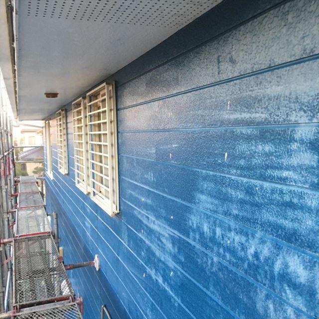 外壁高圧洗浄完了20190404