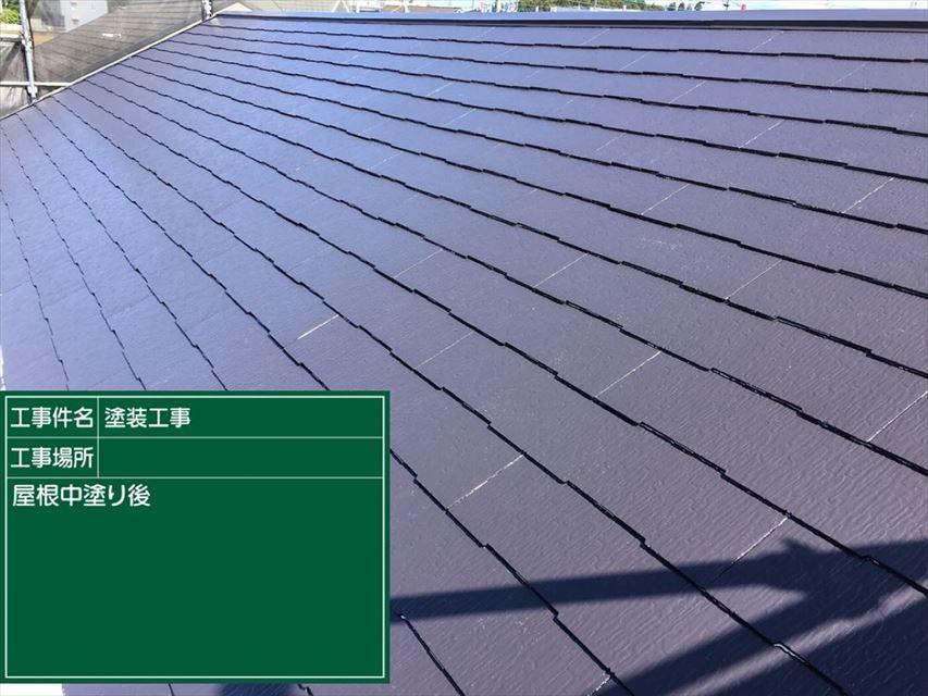 屋根中塗り20003