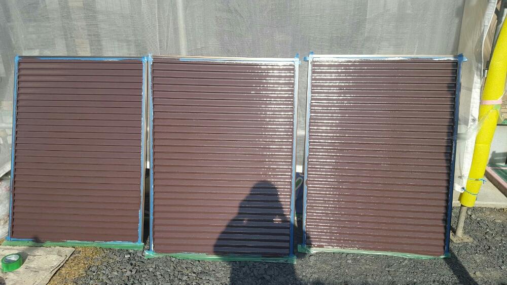 雨戸塗装完了20007