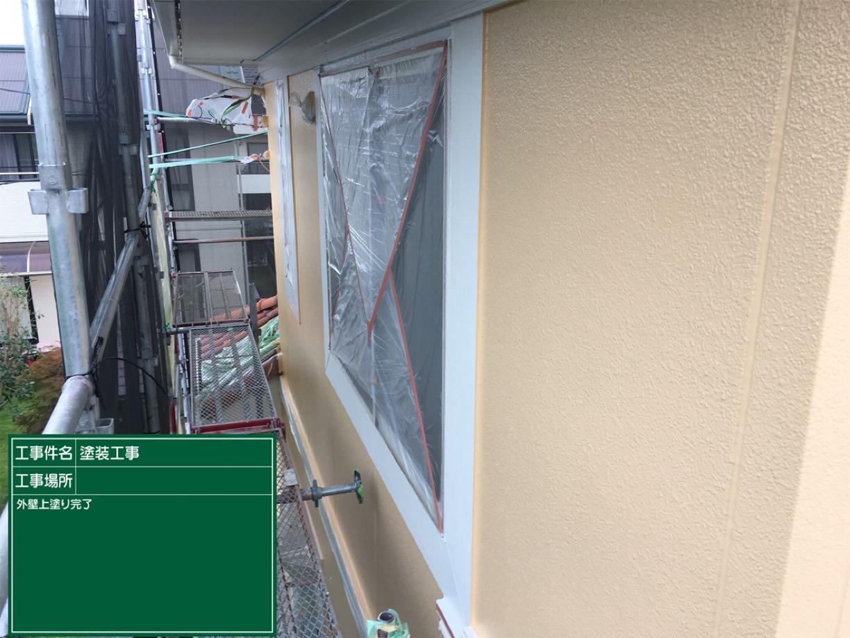 外壁上塗り完了300004