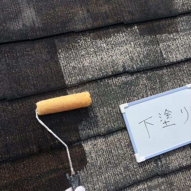 屋根下塗り20180304