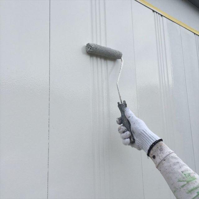 外壁中塗り20190415