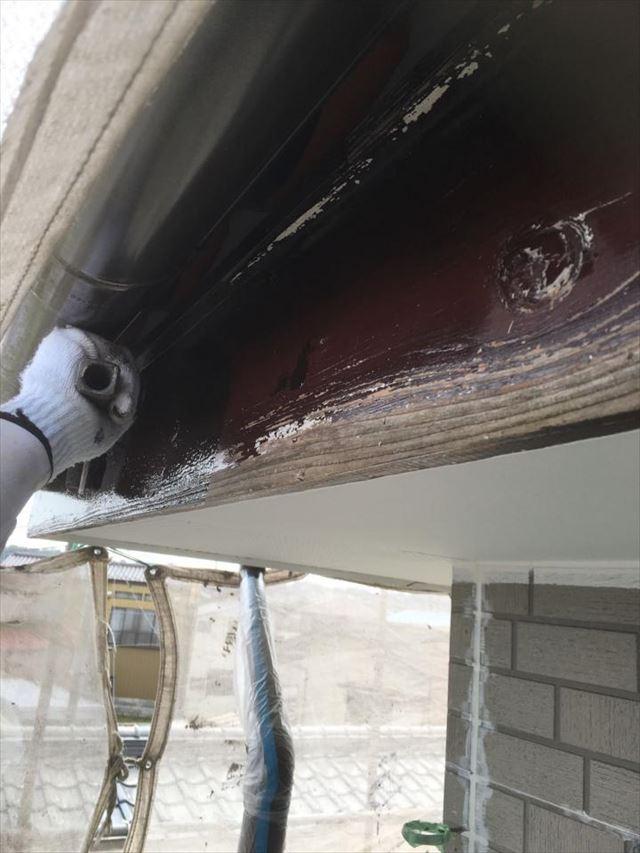破風板塗装20190423