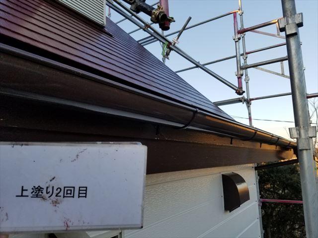 雨樋塗装完了20190419
