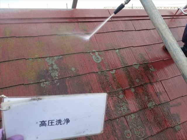 屋根洗浄20190419