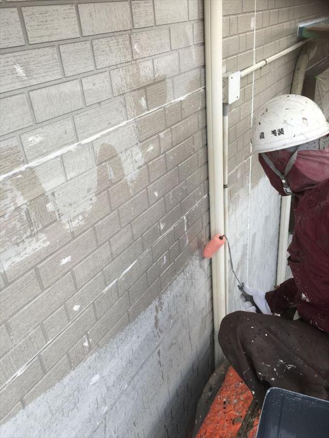 外壁下塗り20190423
