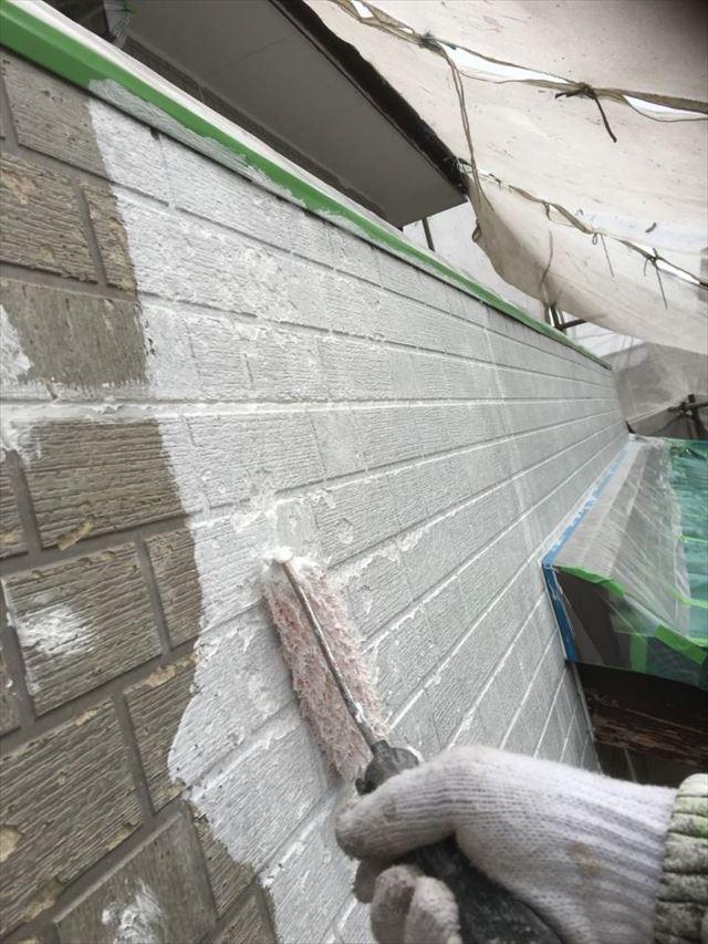 外壁部分下塗り20190423