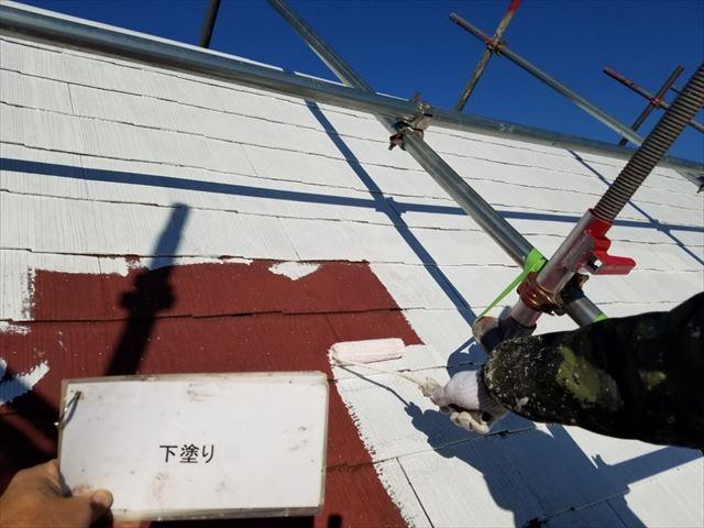 屋根下塗り20190419