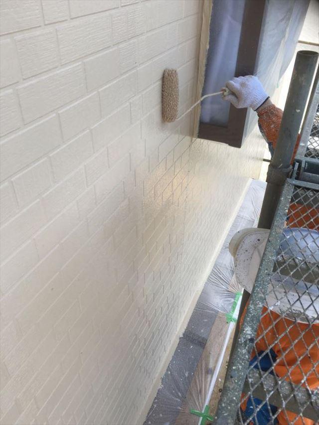 外壁上塗り20190423