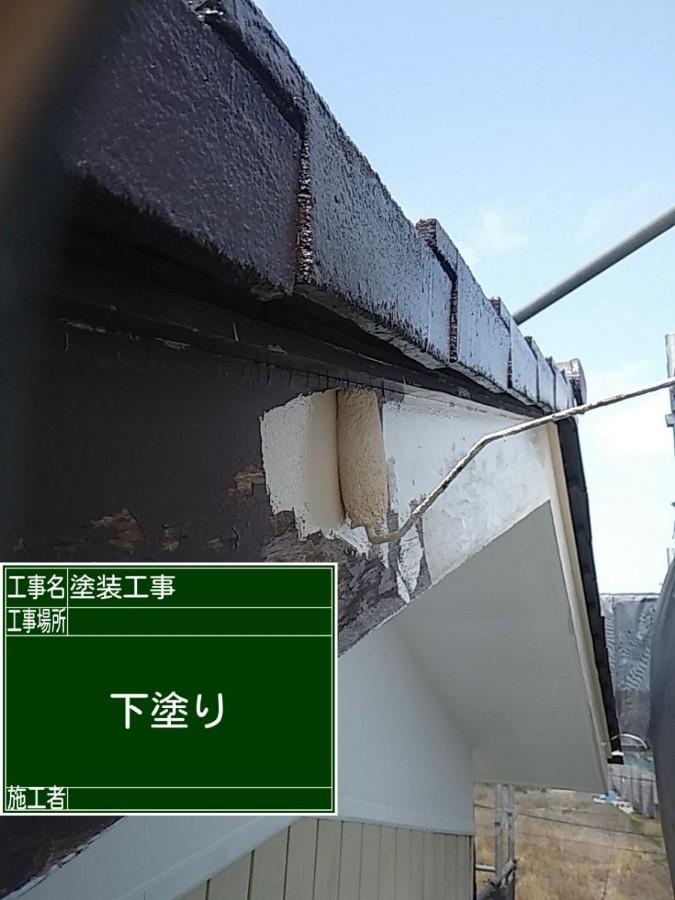 土浦市で空き家のリフォーム!木部を塗り替えて、腐食や虫の食害から家を守ります!