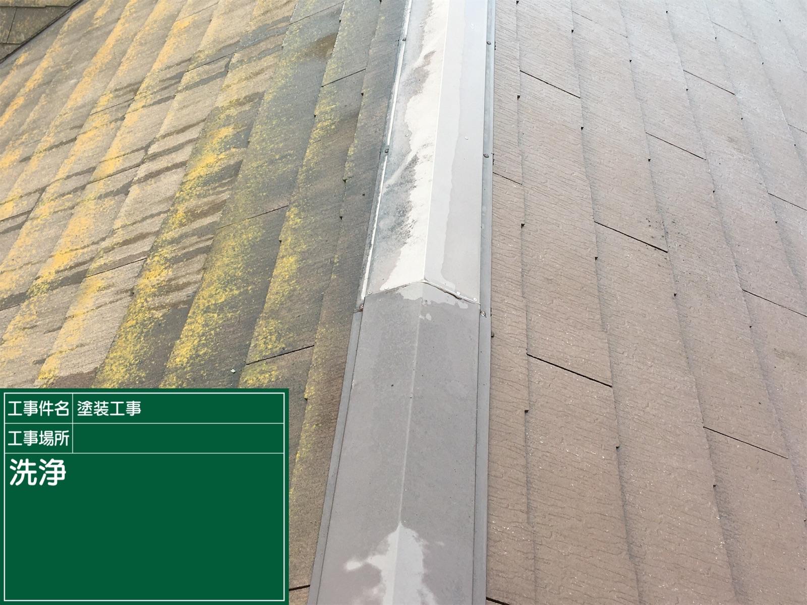 高圧洗浄中屋根300016