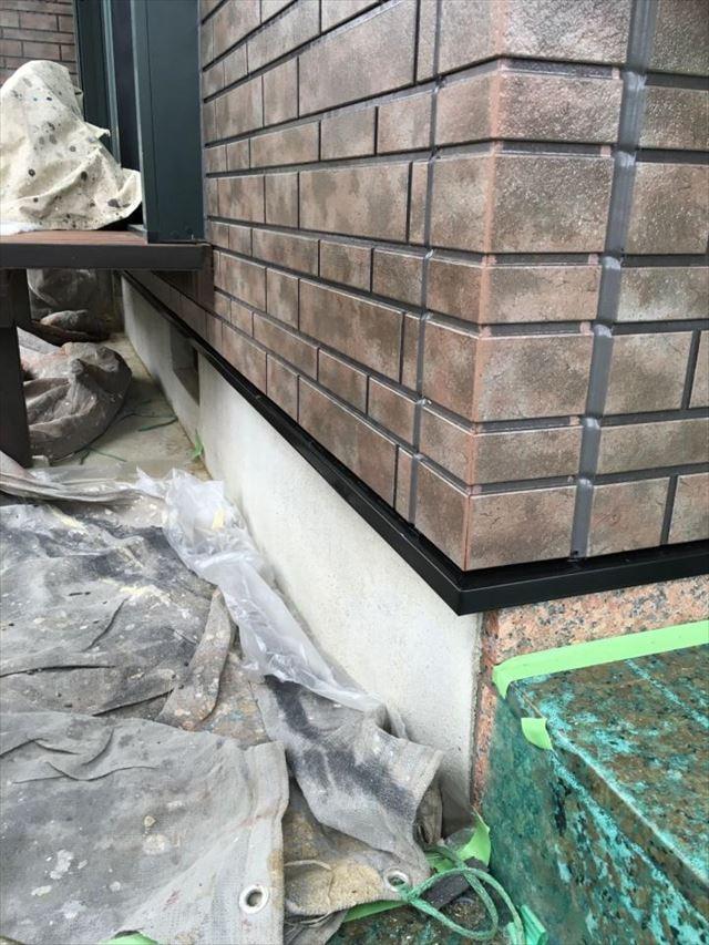水切り塗装完了20190416