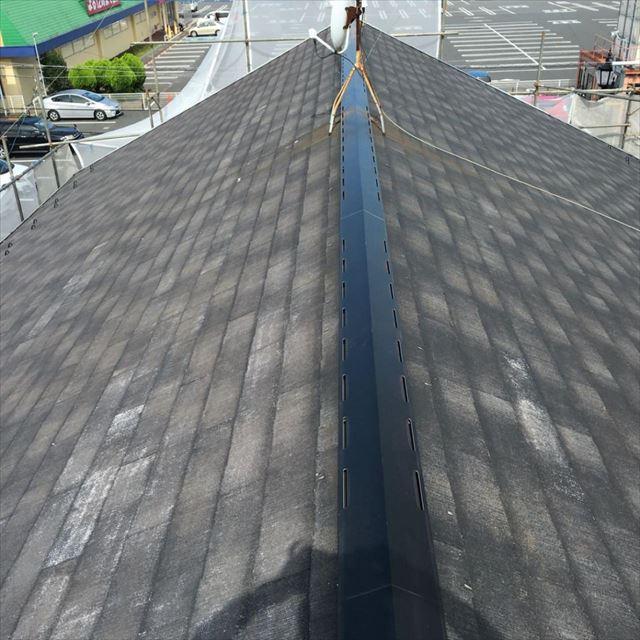 水洗い後屋根