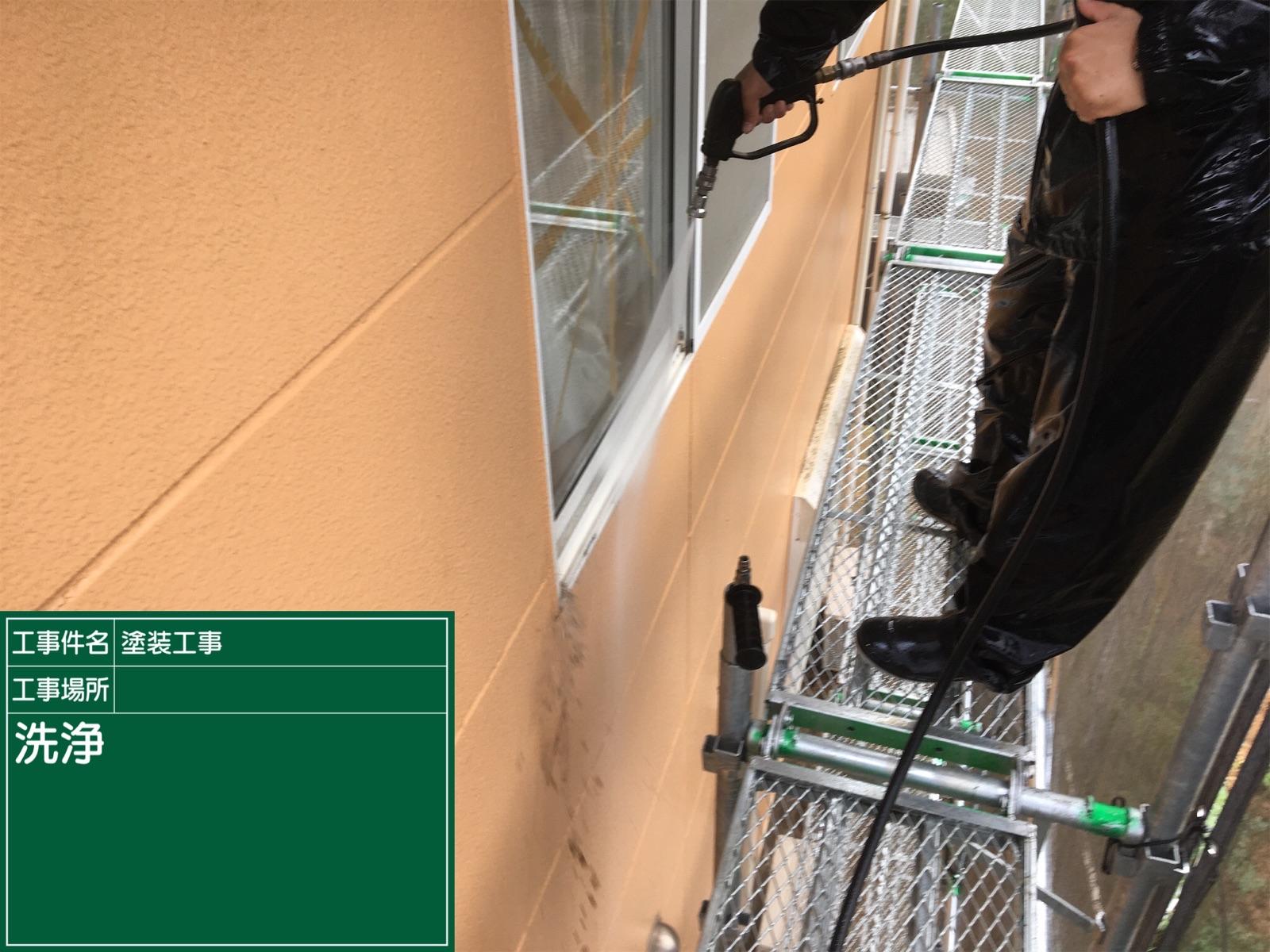 高圧洗浄中外壁(2)300016