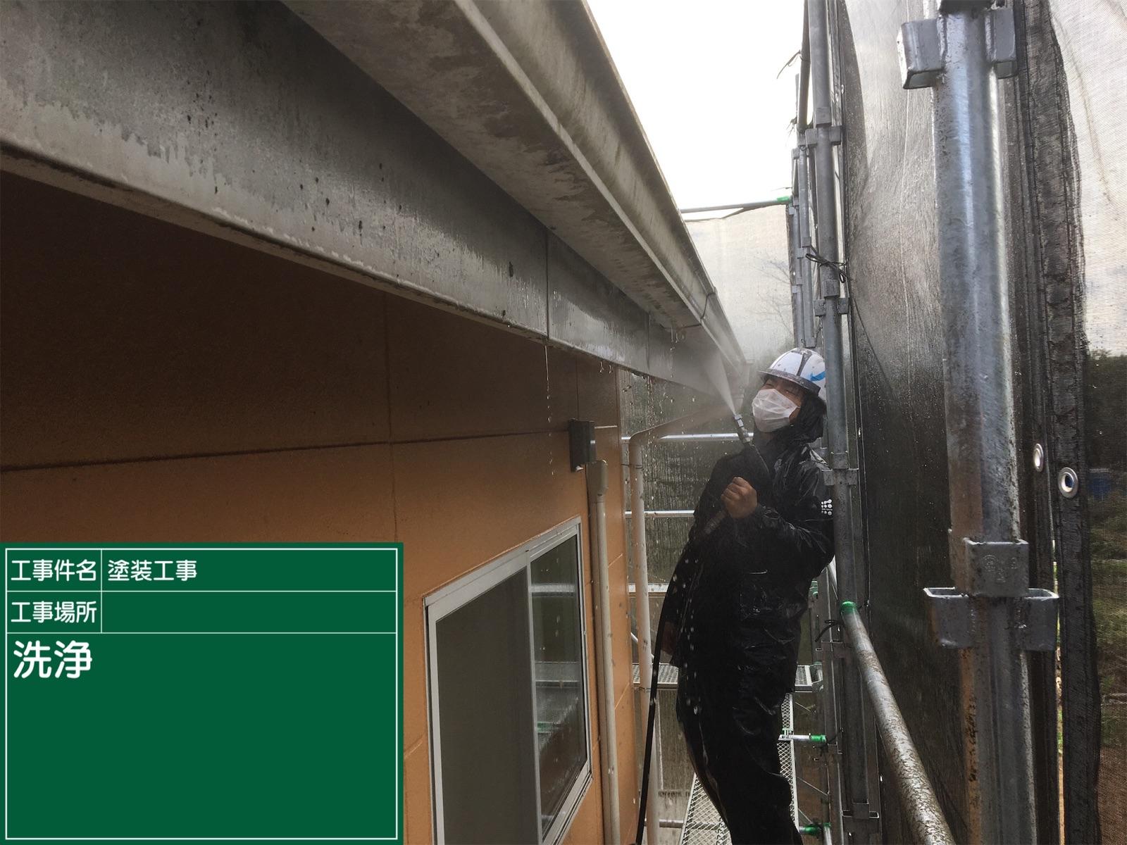 高圧洗浄中雨樋(2)300016
