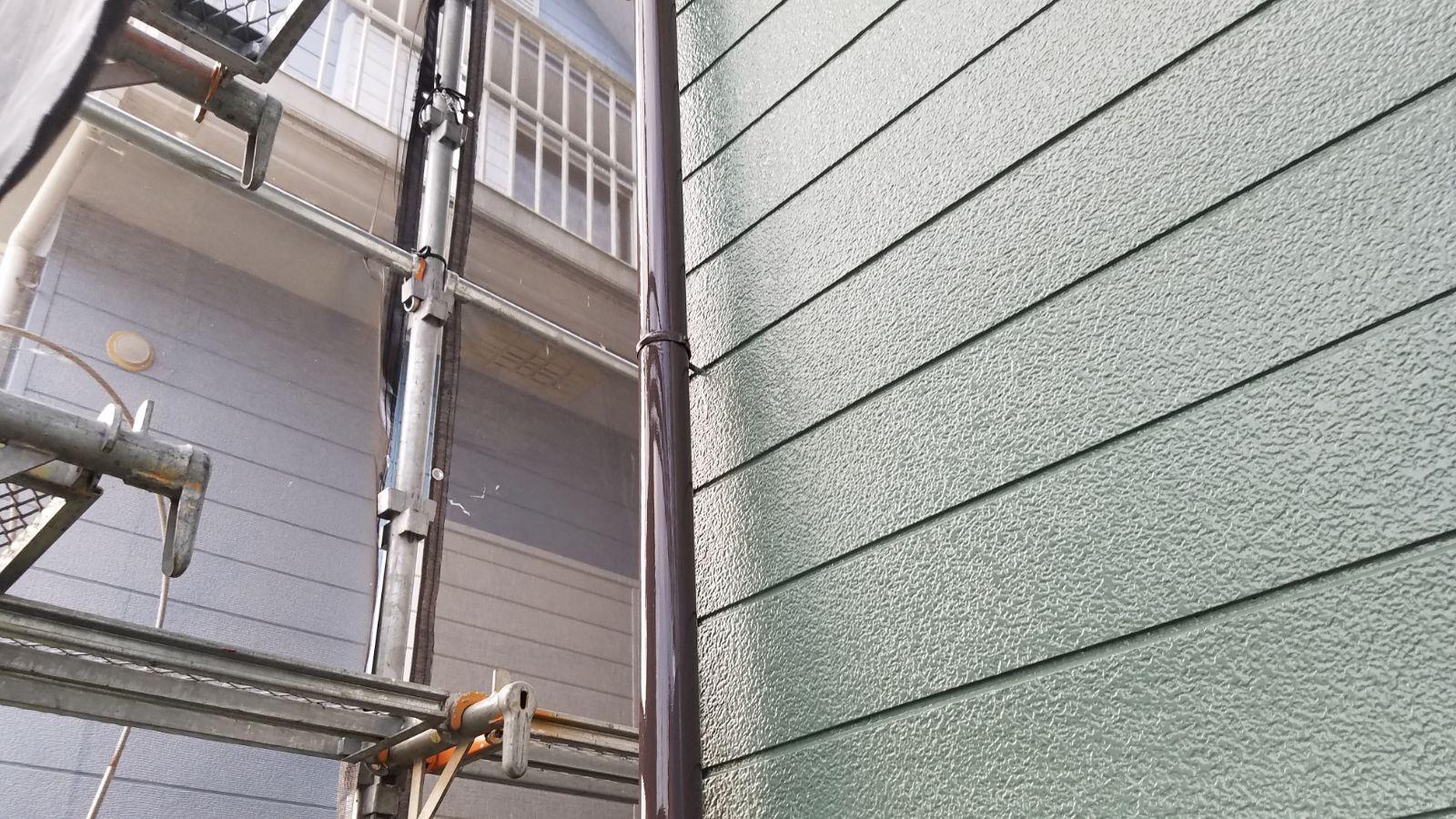 雨樋塗装後300012
