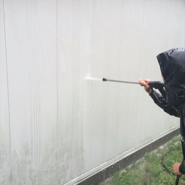 車庫洗浄20190415