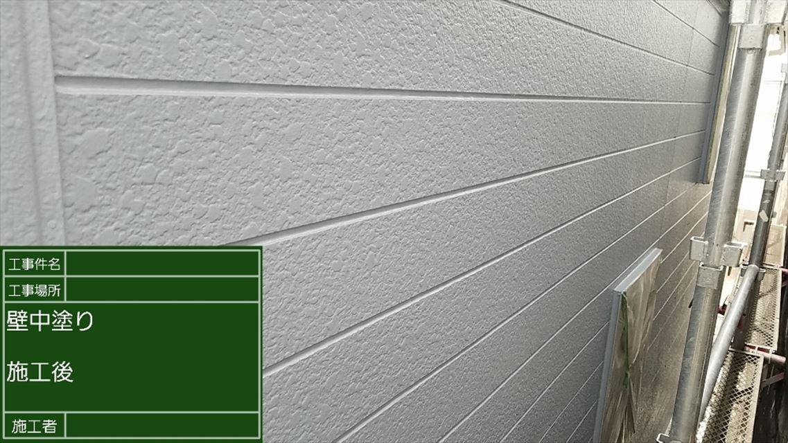 外壁中塗り完了20190531
