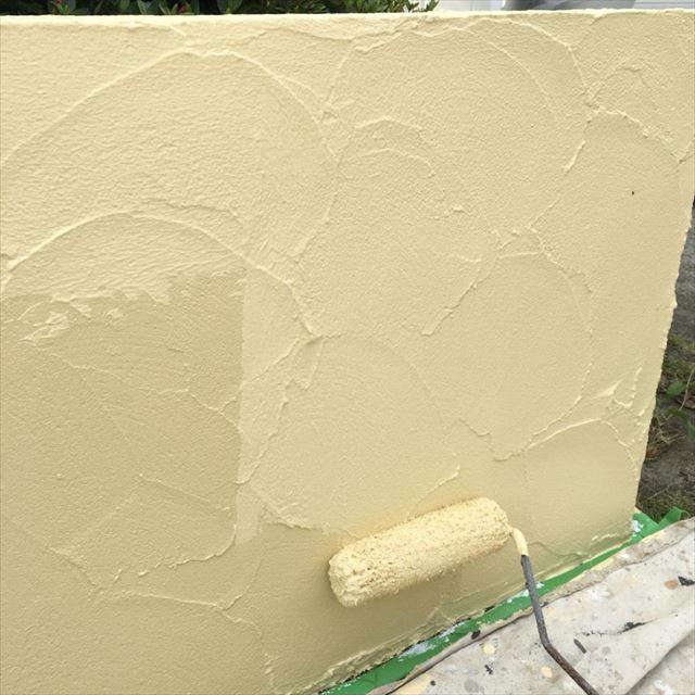 塀上塗り20190415