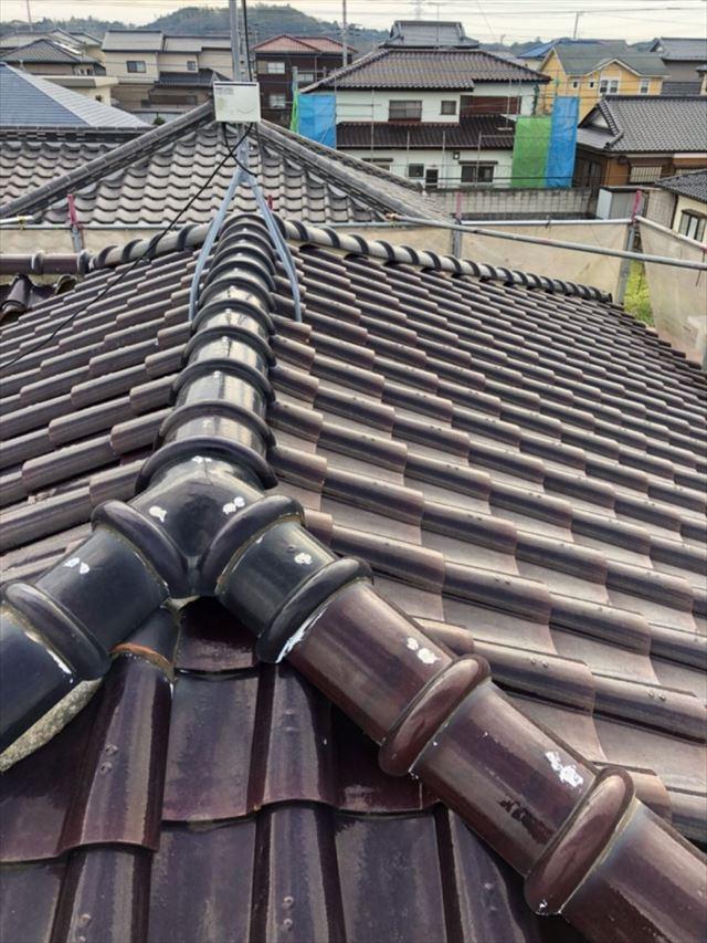 Y様邸の瓦屋根