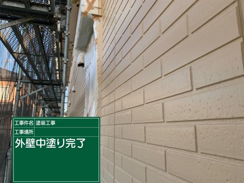 外壁塗装上塗り20040