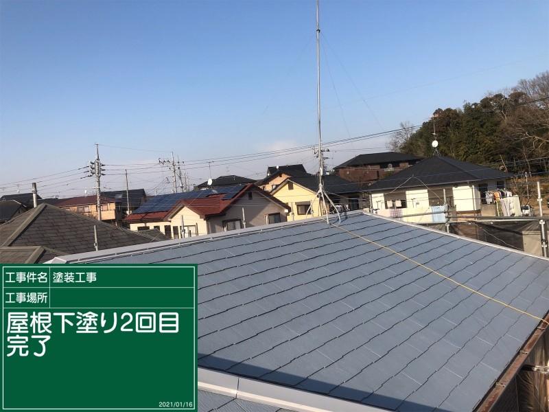 屋根下塗り20044