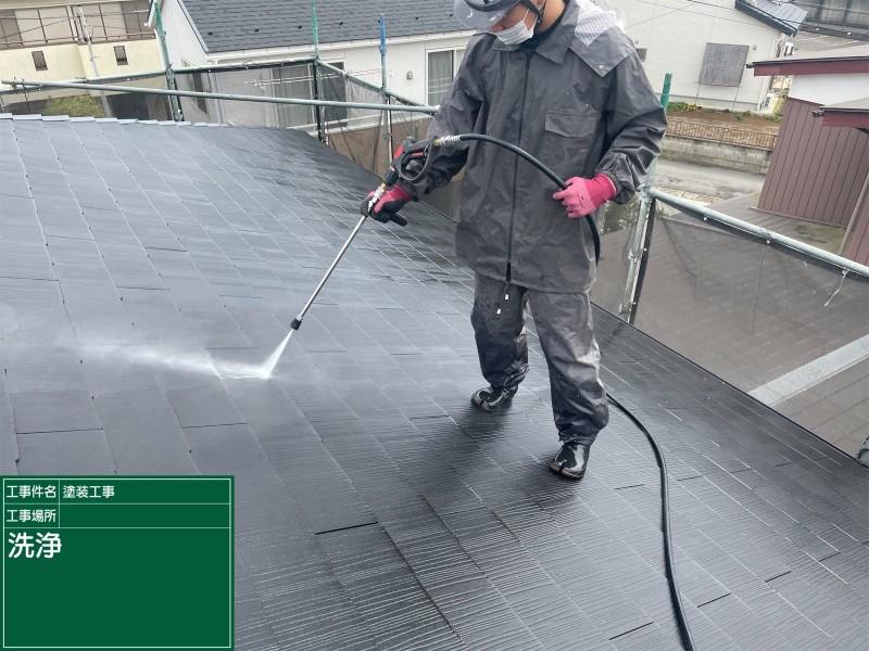 高圧洗浄屋根20050