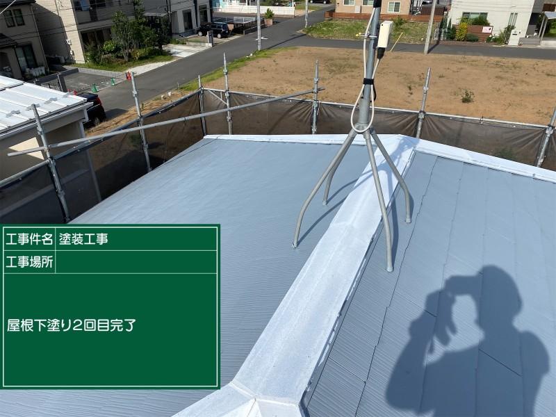 屋根下塗り②完了20052