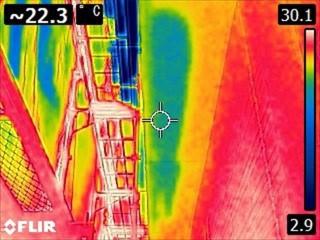 軒天浸水チェックサーモカメラ20050