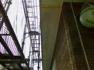 土浦市で雨漏り補修工事!ベランダの笠木を防水塗装で補修します!