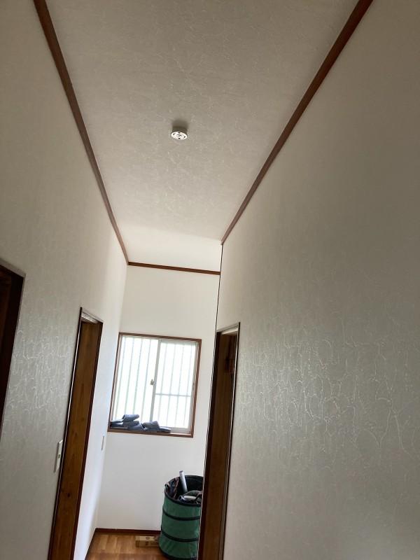 土浦市室内壁クロス張り替え20046